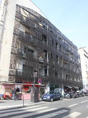Immeuble d'habitation, rue de Turenne