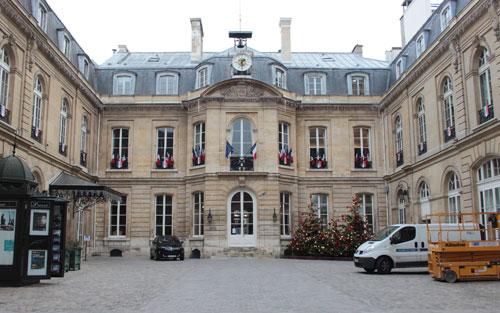 L'hôtel d'Augny - Mairie du 9e arrondissement