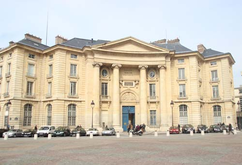 Le centre Panthéon - Siège des universités Paris I et Paris II