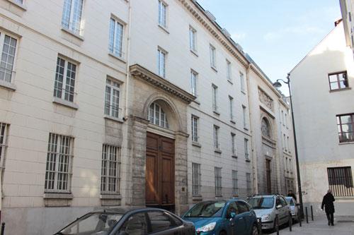 La congrégation du Saint-Esprit - Le bâtiment  et la chapelle rue Lhomond