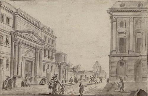 Le couvent des Feuillants - Le portail