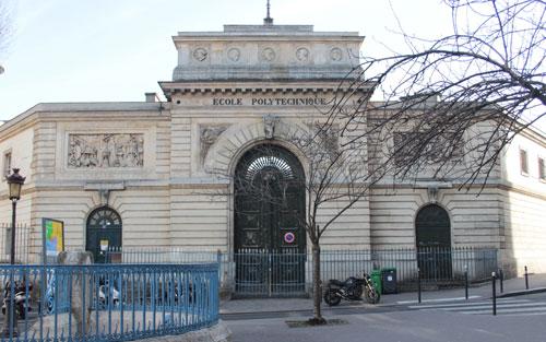 Le portail de l'Ecole Polytechnique
