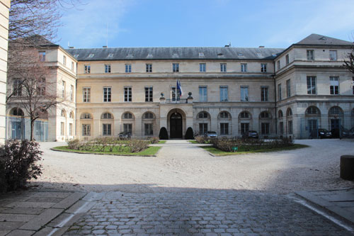 Le pavillon Boncourt : cabinet de la Secrétaire d'Etat à l'Enseignement Supérieur