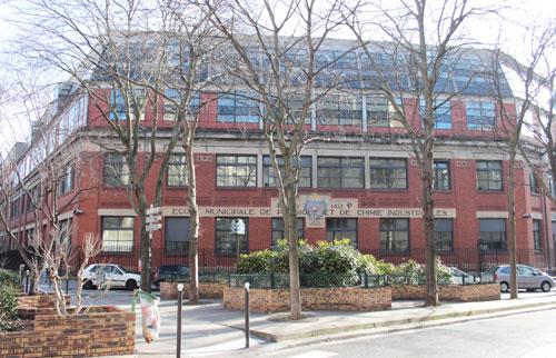L'Ecole supérieure de physique et de chimie industrielle - ESPCI
