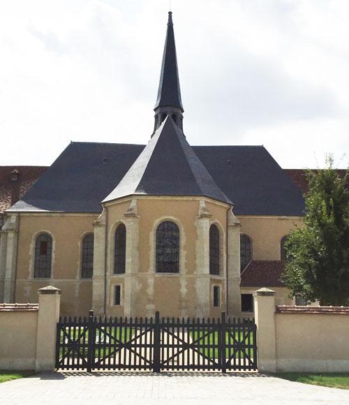 L'ancienne chapelle de l'hôpital Laennec