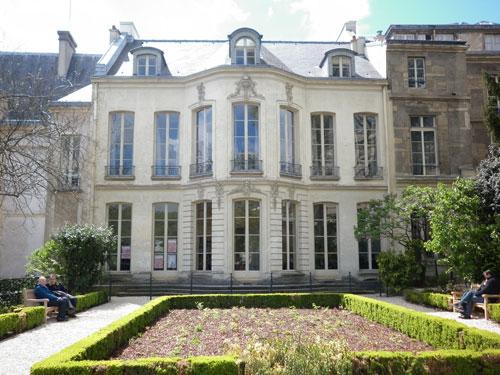 Le jardin de l'hôtel de Fontenay