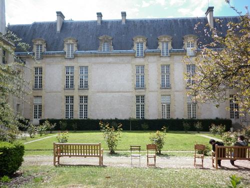 Le jardin de l'hôtel de Jaucourt