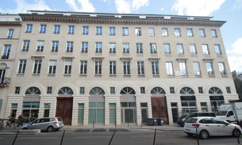 Immeuble d'habitation, rue de la Chaussée d'Antin