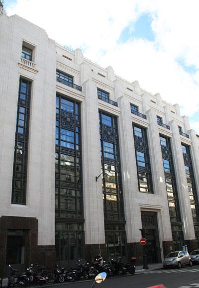Immeuble de bureaux, rue de Châteaudun