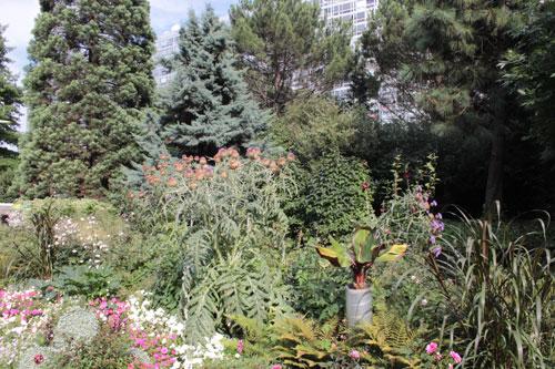 Le jardin Atlantique - La partie Est