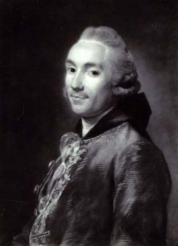 Portrait de Jean-Joseph de Laborde