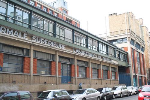 L'Ecole Normale Supérieure : le laboratoire rue Lhomond