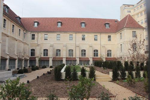L'hôpital Laennec - Une aile après restauration
