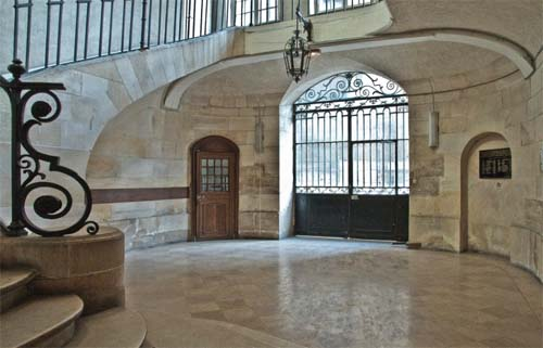 Le lycée Charlemagne - L'escalier d'honneur