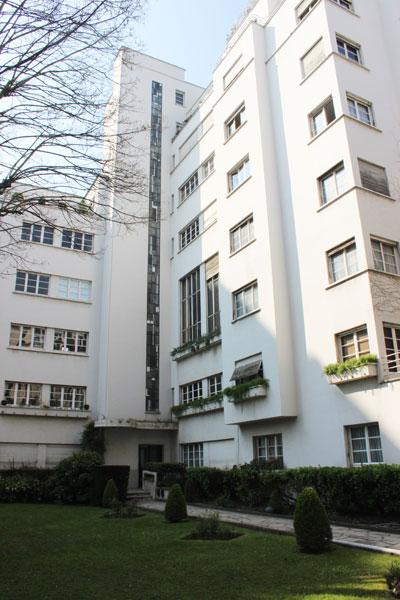 immeuble d'habitation, rue Méchain
