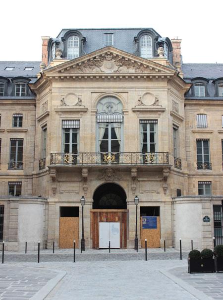 Le ministère de la Culture - Le pavillon de Contant d'Ivry, rue de Valois