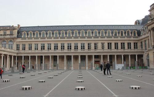 Le siège du Ministère de la Culture et de la Communication - L'aile Valois du Palais-Royal