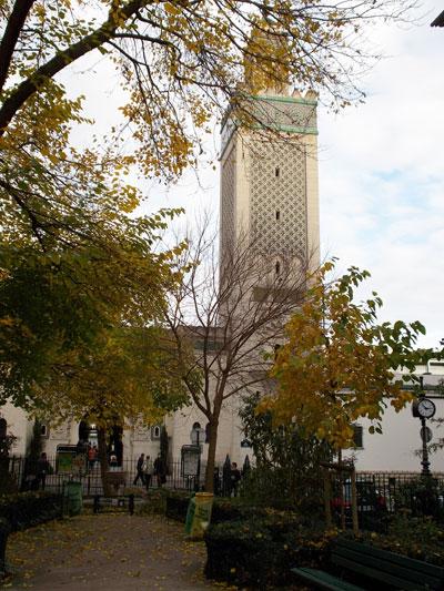 La Grande Mosquée de Paris - Le minaret