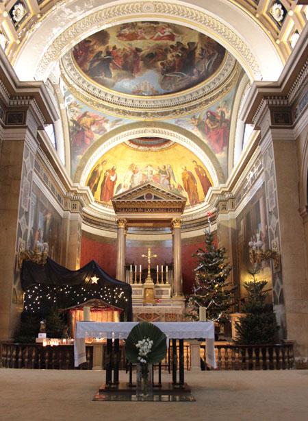 L'église Notre-Dame de Lorette - Le chœur