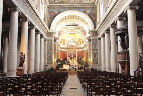 L'église Notre-Dame de Lorette - La nef