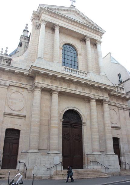 L'église de l'Oratoire du Louvre - La façade