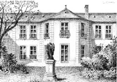 Le pavillon de chasse du duc de Guise devenu propriété de la congrégation Saint-Clothilde