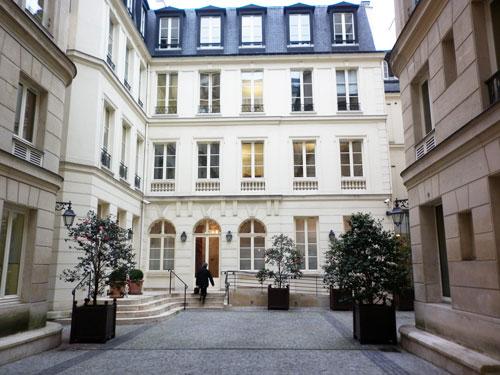 L'hôtel de Saint-Chamas - Rue de la Victoire