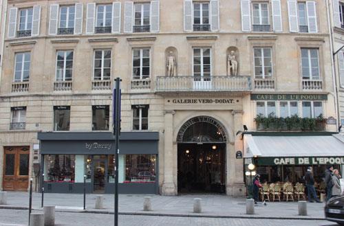 La galerie Vérot-Dodat- Entrée rue du Bouloi