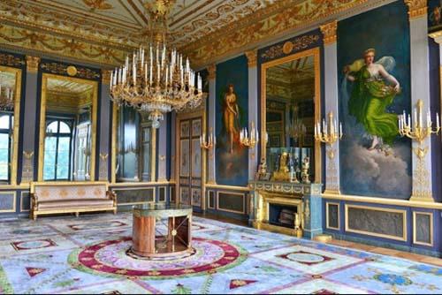 L'hôtel de Beauharnais - Le salon de musique