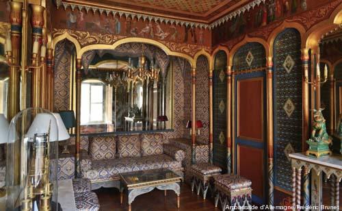 L'hôtel de Beauharnais - Le boudoir turc