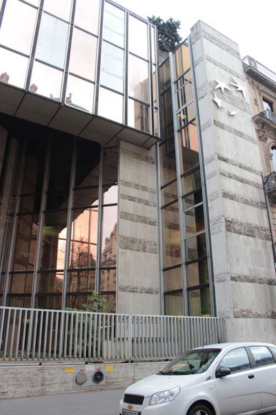 Bureaux de la BNP - Extension sur la rue Taitbout
