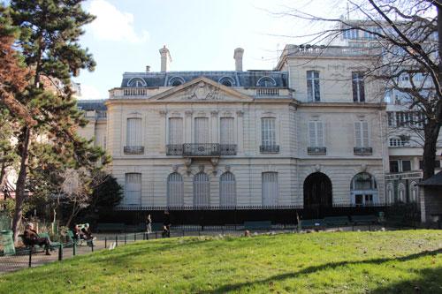 L'hôtel Dosne-Thiers - Façade sur jardin