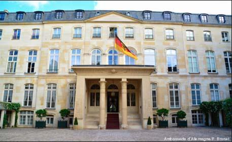 L'hôtel de Beauharnais - Façade sur cour