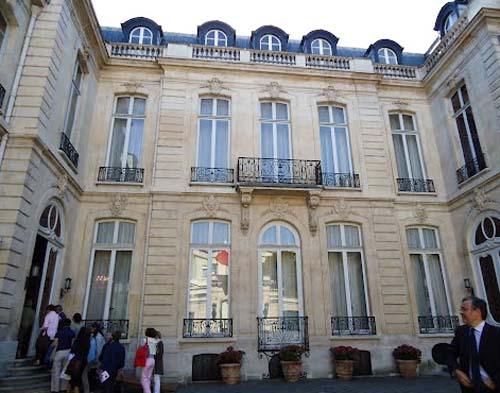 L'hôtel de Boisgelin - La façade sur cour
