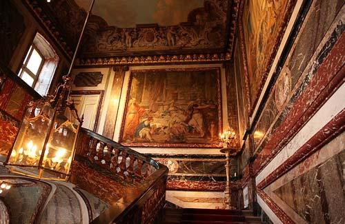 L'hôtel de Boisgelin - Le grand escalier