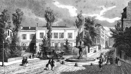 Le premier hôtel Dosne-Thiers