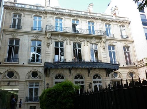 L'hôtel Le Marois - Les salons France-Amérique