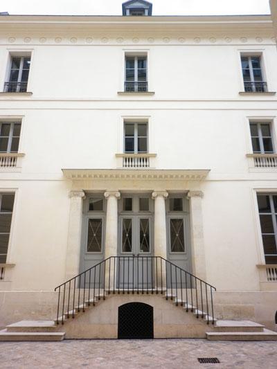 L'hôtel Moreau ou hôtel Lakanal - Façade sur cour
