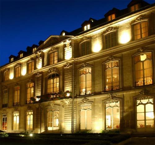L'hôtel de Boullogne - Façade sur jardin