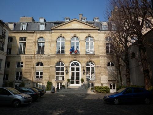 L'hôtel de Seignelay - Façade sur cour