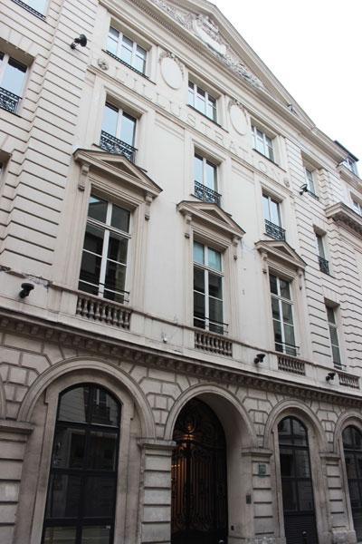 Le journal l'Illustration - Le bâtiment de 1788 - Etat actuel