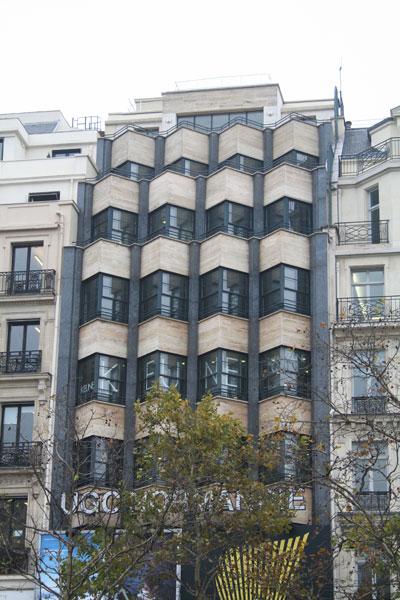 L'immeuble du Poste parisien