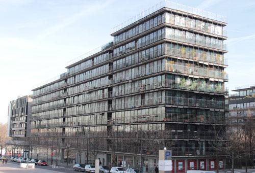Logements sociaux, rue Emile Durkheim