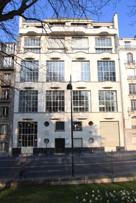 Ateliers-logements, rue de la Cité Universitaire