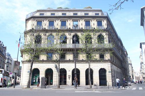 La maison Dorée - Bureaux de la BNP
