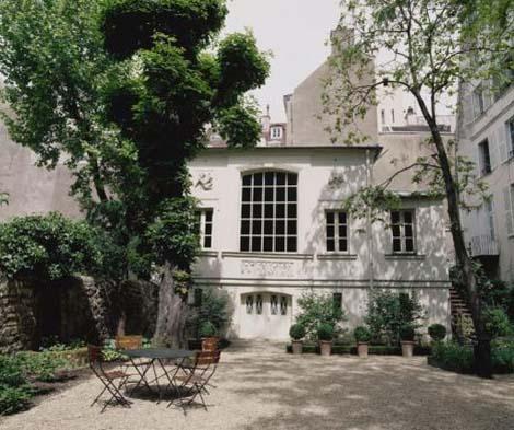 Le musée Delacroix - L'atelier du peintre