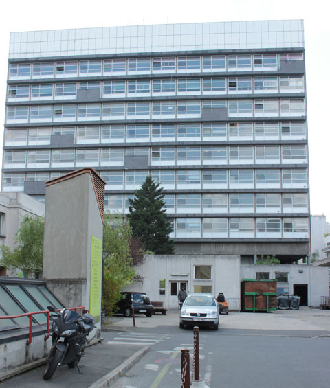 L'hôpital Necker - Bâtiment d'André Wogensky