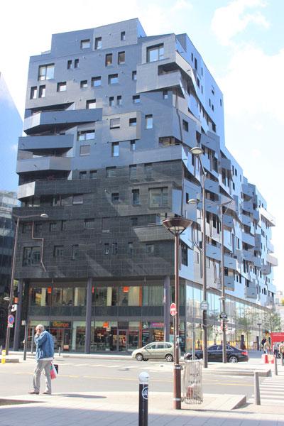 T8 - L'immeuble de logements