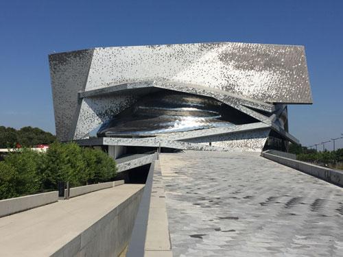 La Philharmonie - Vue de la Porte de Pantin