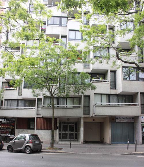 Immeuble d'habitation, rue des Pyrénées